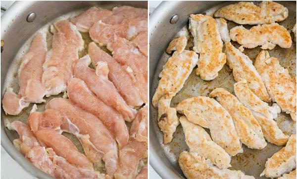 Как приготовить куриные грудки в сливках