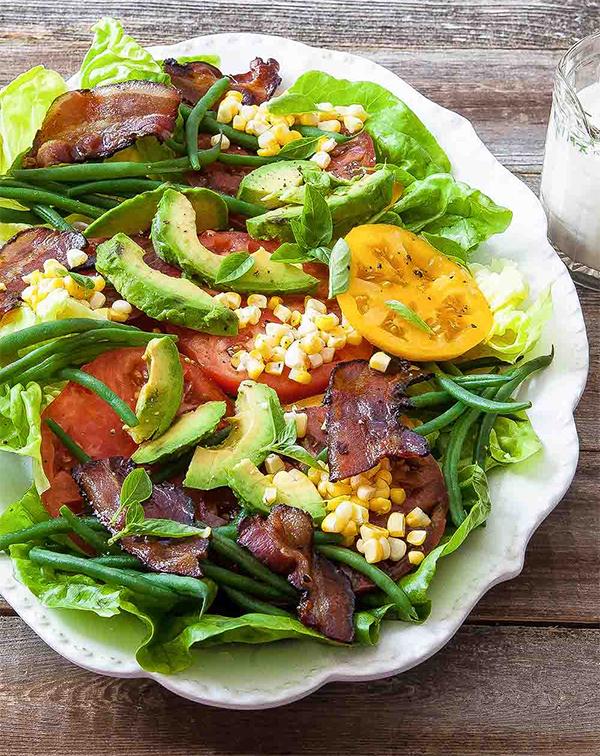 Рецепты вкусных салатов из свежих овощей