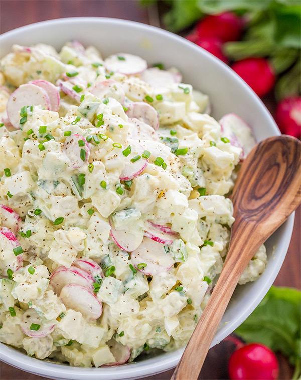 этого, салат из картофеля рецепт с фото лимона