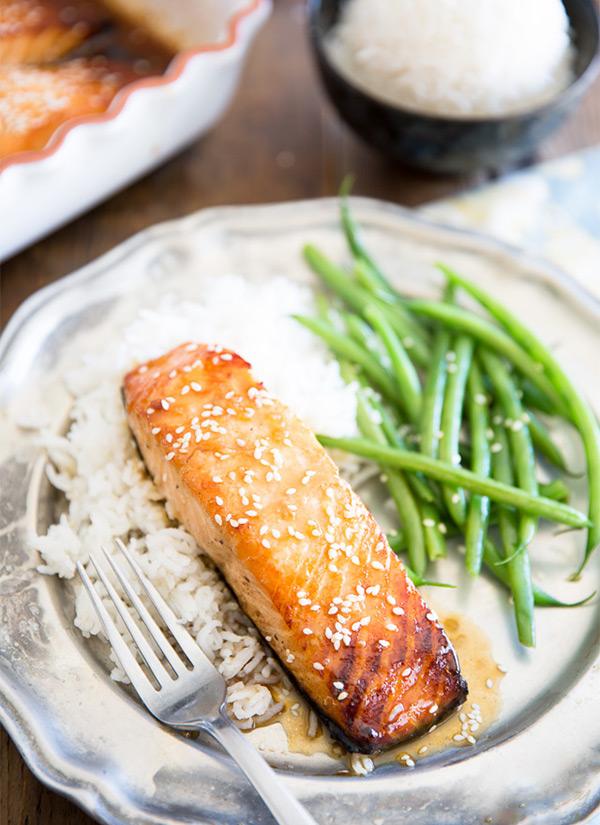 Пошаговые рецепты с фото запеченный лосось