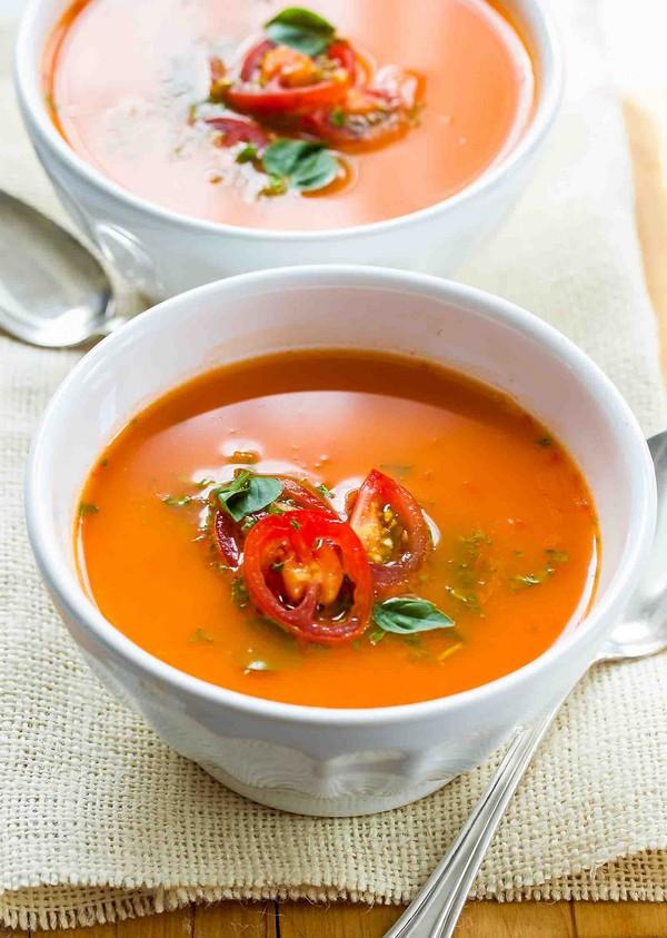 Как приготовить томатный суп пюре