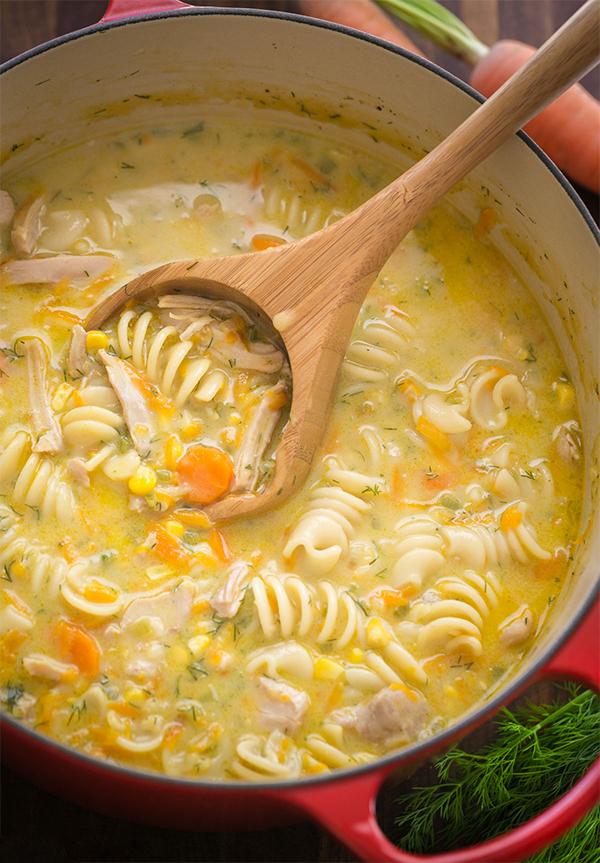 Пошаговая инструкция суп куриный