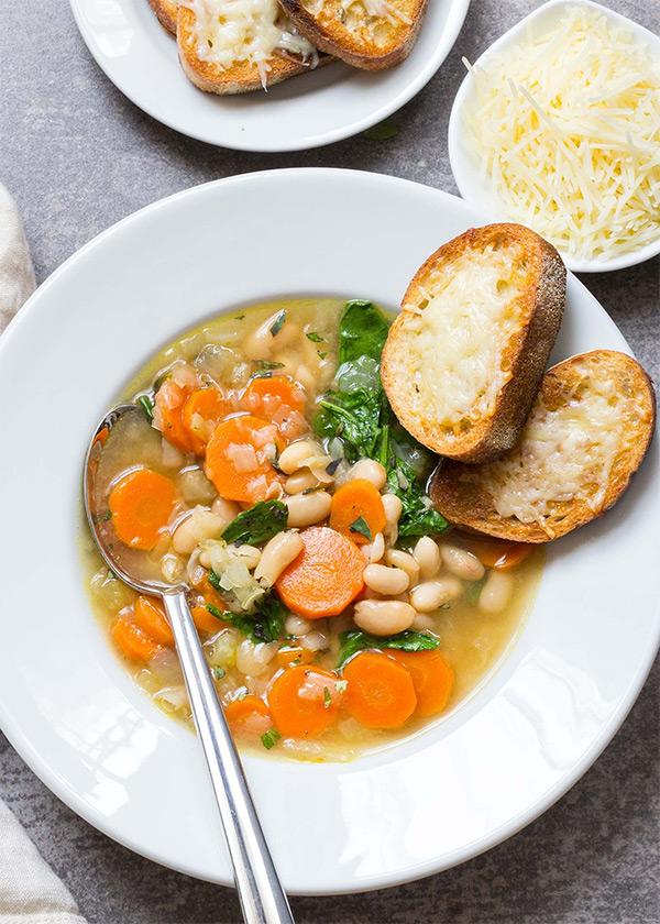 Как варить белую фасоль на суп