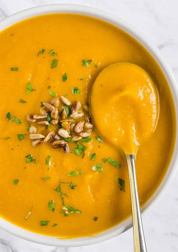 Сливочный тыквенный суп-пюре